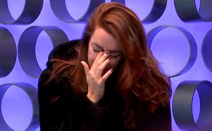 """¡Adara llora en directo tras su beso con Gianmarco! """"No puedo controlarlo"""""""