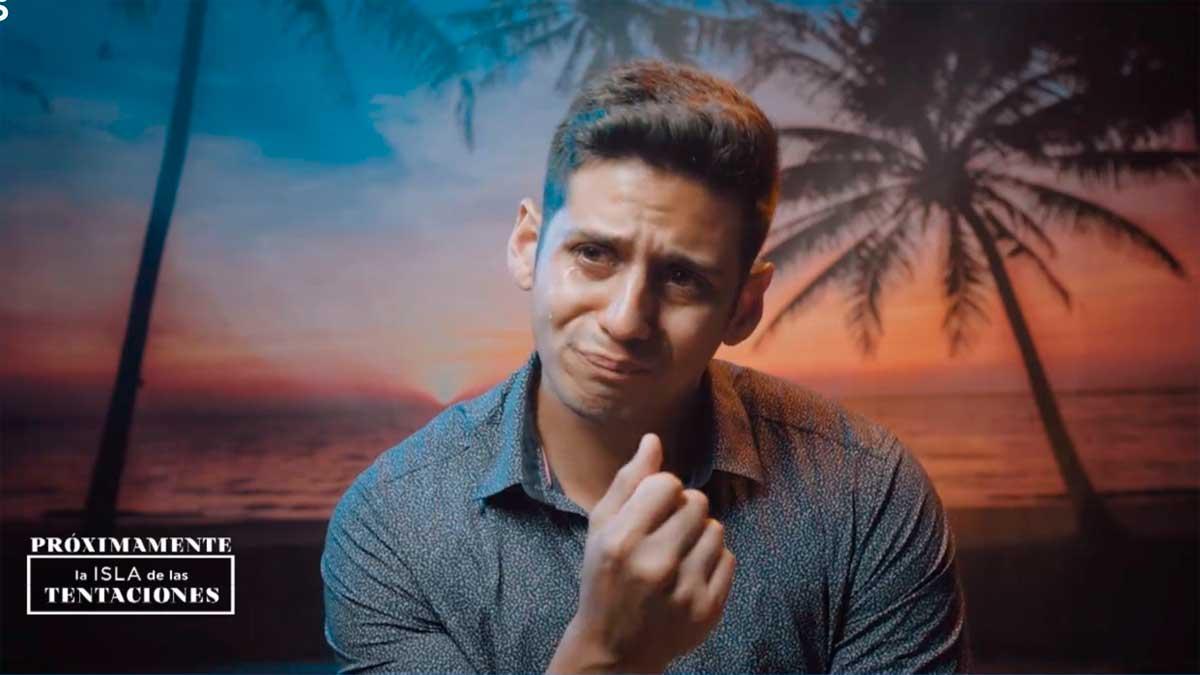 Christofer llorando por Fani la isla de las tentaciones