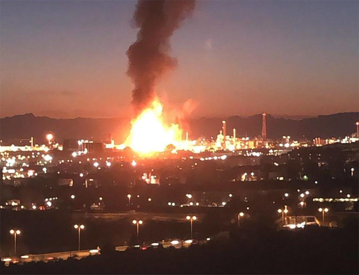 🔴Un muerto y seis heridos tras la explosión en una planta petroquímica en Tarragona(España)
