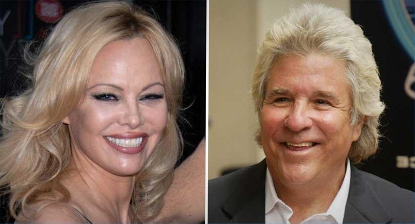 Pamela Anderson y Jon Peters - Boda