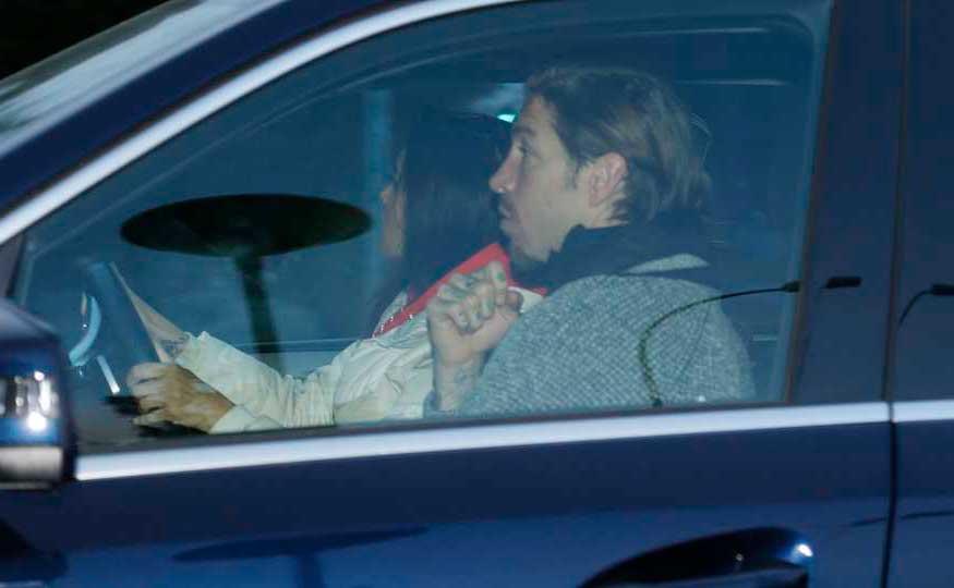 ¡Pilar Rubio embarazada! FOTOS de su visita al hospital con Sergio Ramos