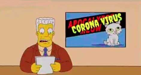 los simpsons y el coronavirus