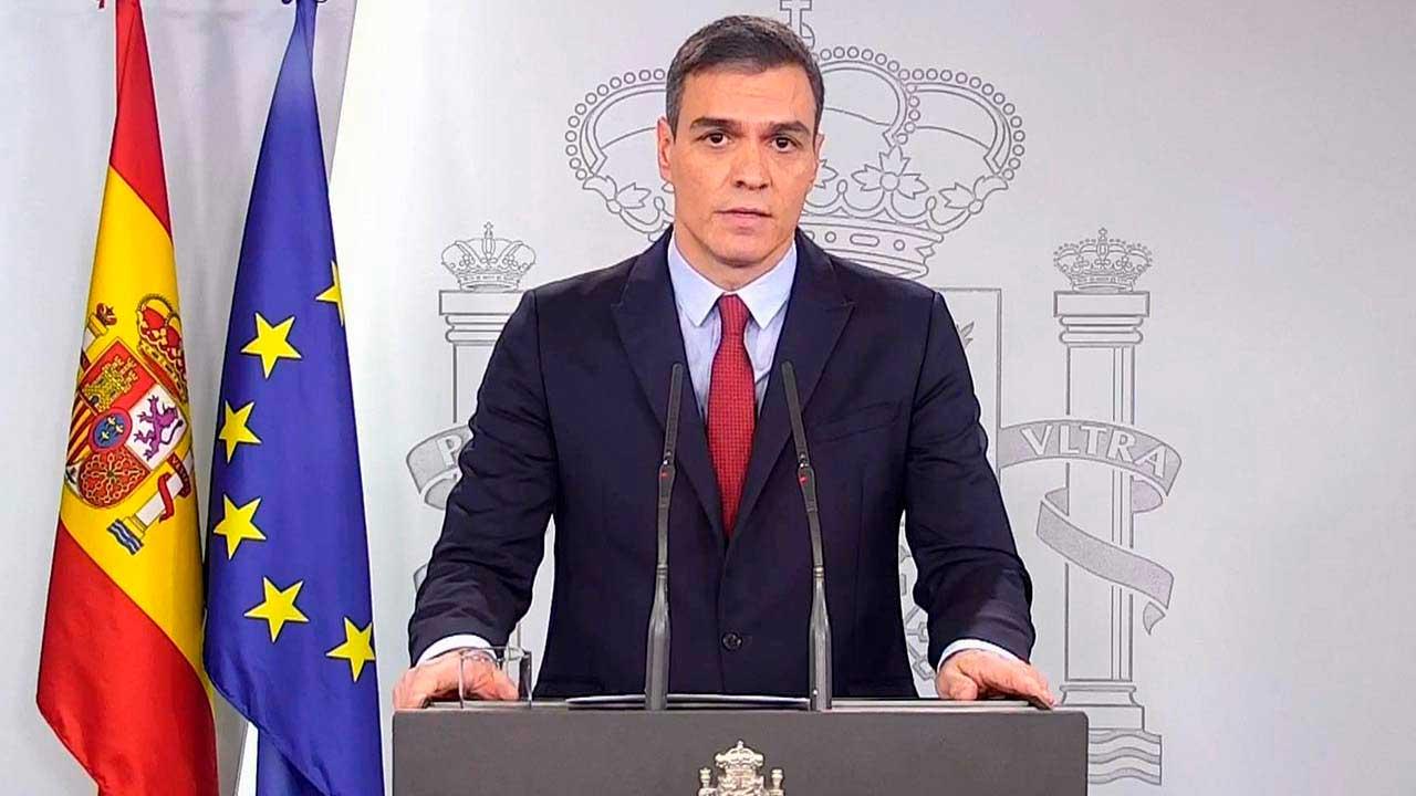 Pedro Sanchez declara estado de alarma en España