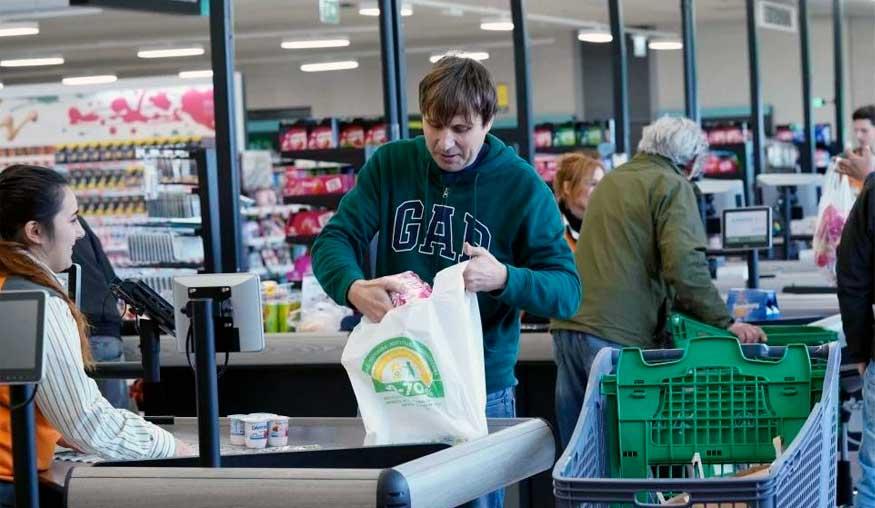 Comprando en Mercadona