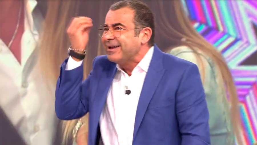 Jorge Javier estalla en el directo de Sálvame