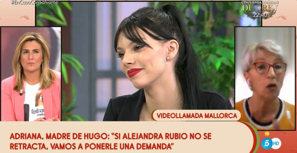 """¡Alejandra Rubio demandada! """"Vamos a darle 48 horas para que se retracte"""""""