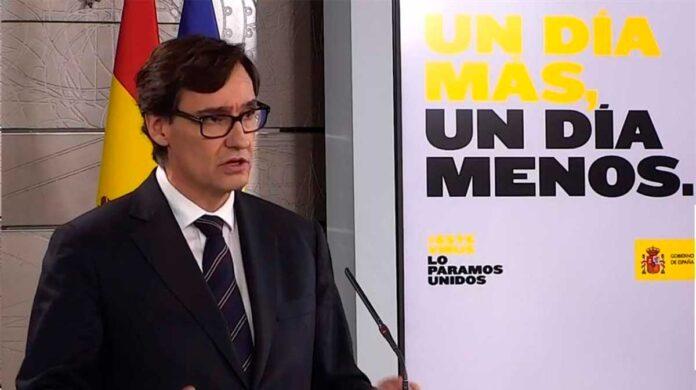 el gobierno de España repartira mascarillas el lunes