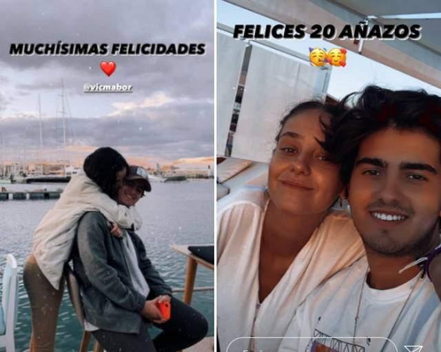El muchacho de Victoria Federica la felicita Instagram