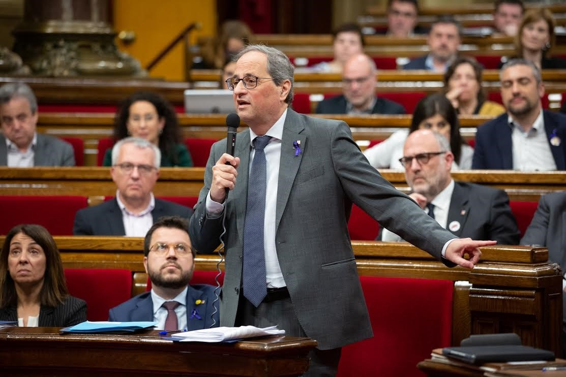 El Tribunal Supremo inhabilita Quim Torra como presidente de la Generalitat