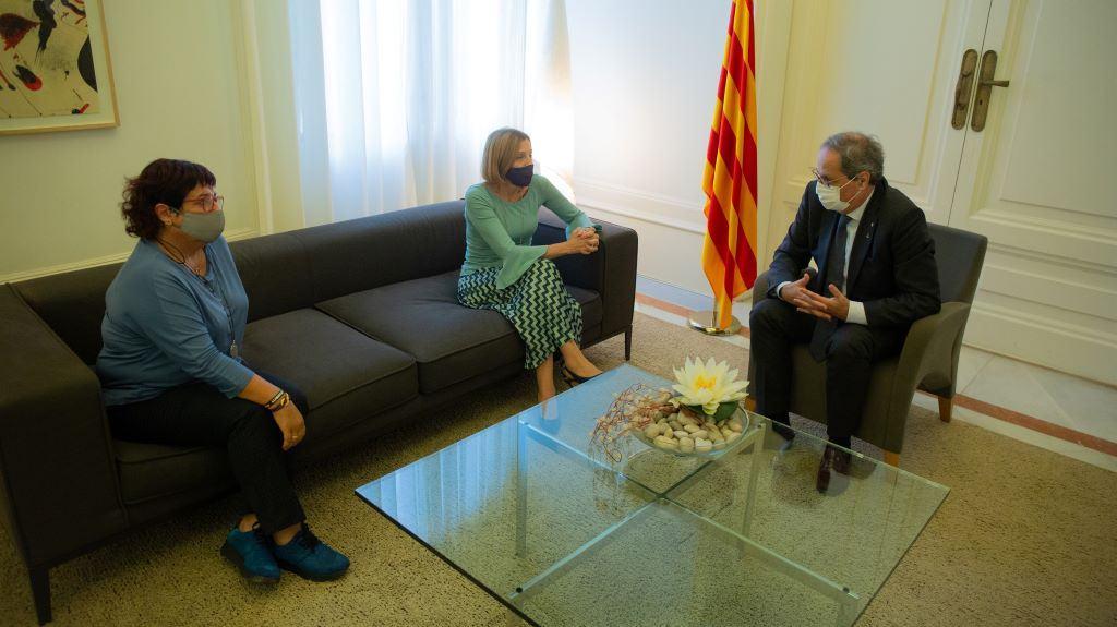 """Quim Torra: """"Aquí no se rinde nadie, seguiremos hasta la libertad de Cataluña"""""""