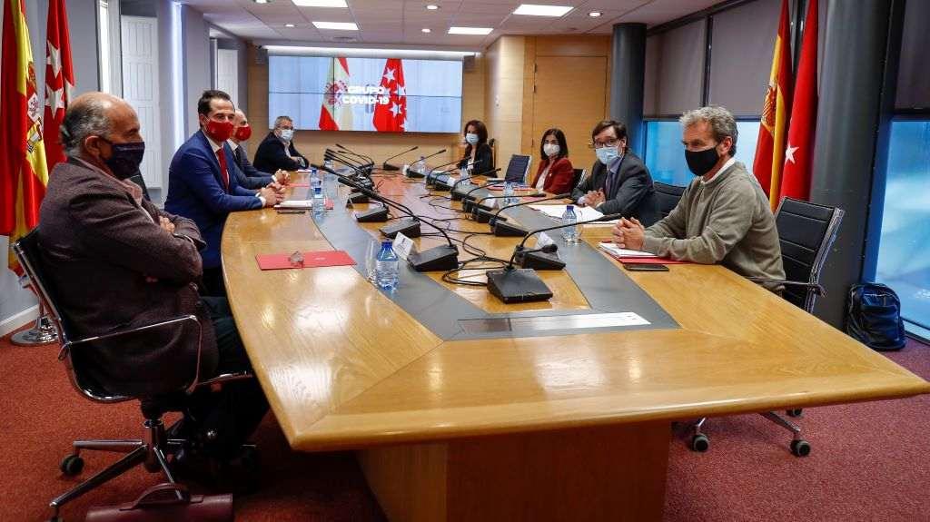 Acuerdo entre Madrid y el Gobierno sobre las limitaciones del Covid-19