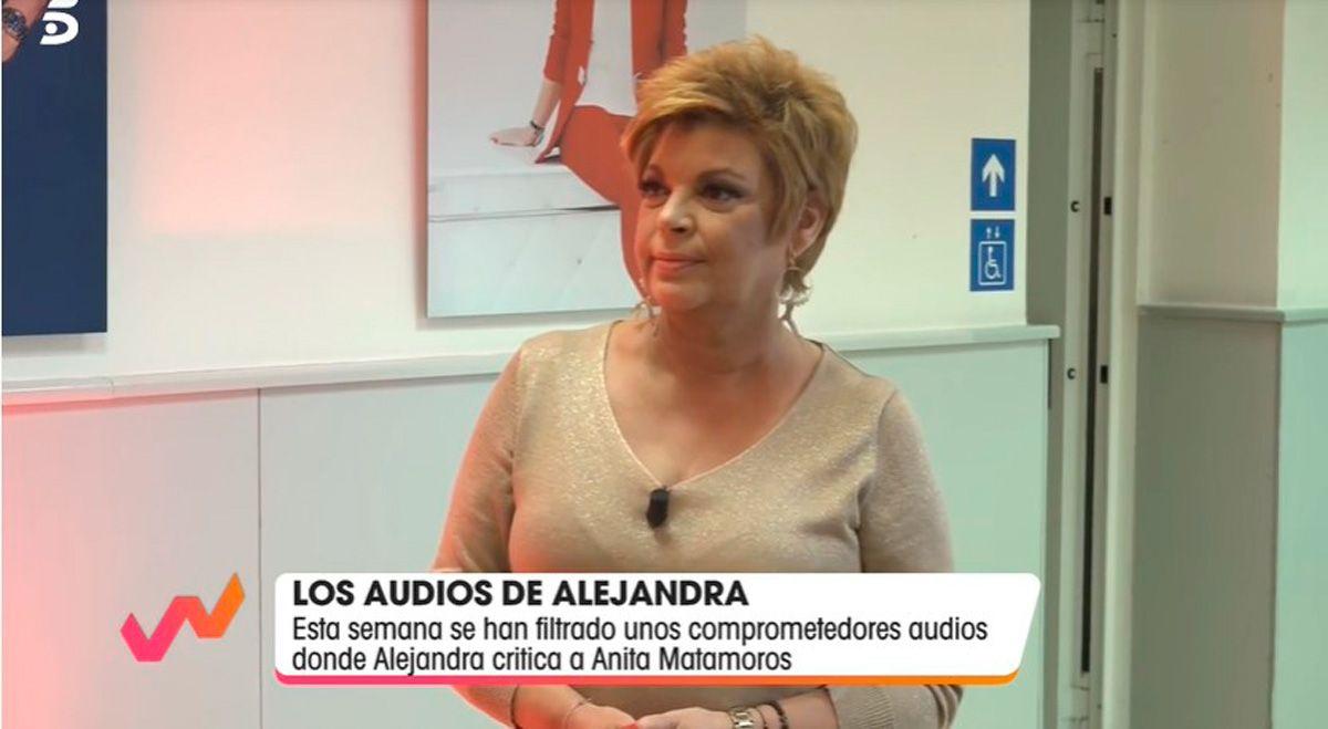 Terelu Campos defiende la hija en 'Viva la vida' Telecinco