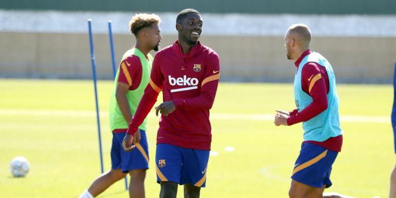 Dembélé vuelve a llegar tarde al entrenamiento del Barça