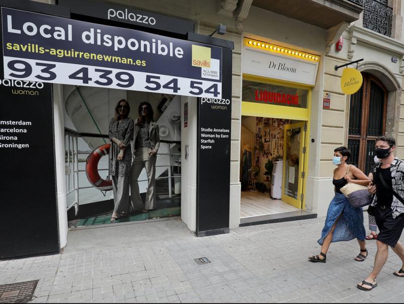 España es el miembro de la UE con mayor caída del PIB y del empleo en el segundo trimestre de 2020