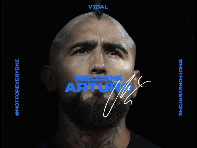 Arturo Vidal ya es nuevo jugador del Inter de Milán