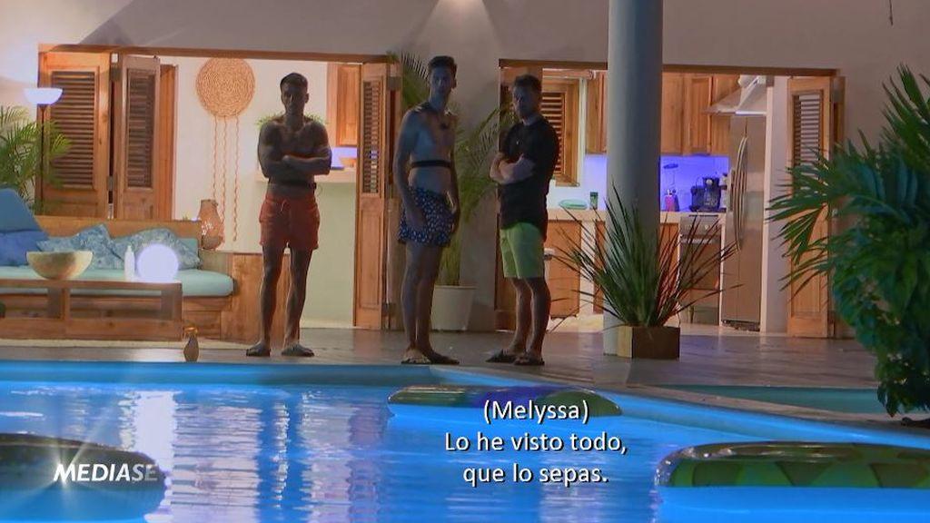 melyssa se fuga de la isla de las tentaciones