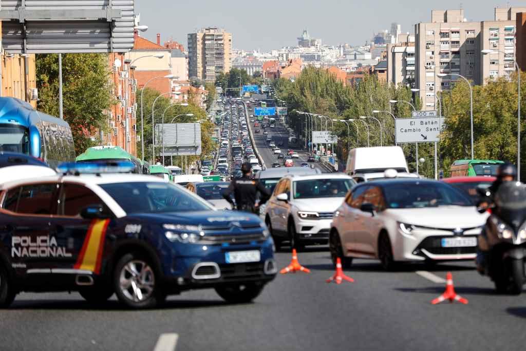 Madrid: En estado de alarma y confinada de nuevo