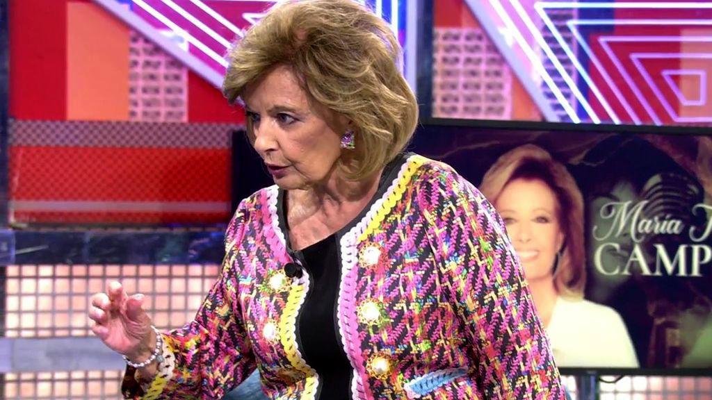 María Teresa Campos, invitada a la Deluxe 'Telecinco