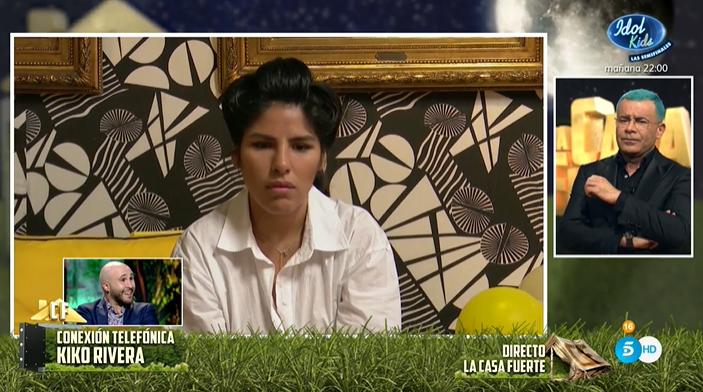 Chabelita Pantoja, triste en la llamada de Kiko Rivera Telecinco