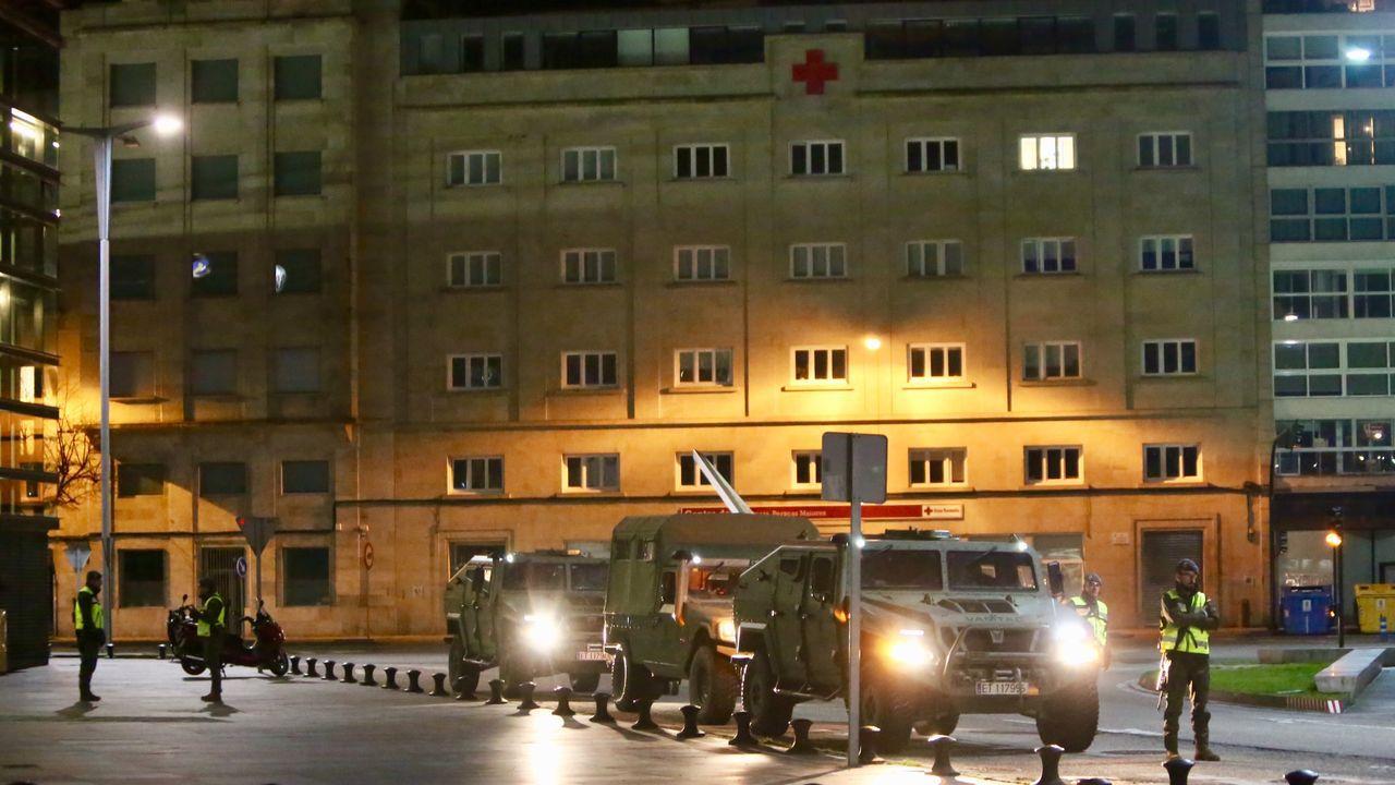 Militar activo defiende a ex militares que reclaman un golpe