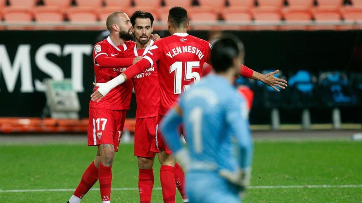 El Valencia no sabe ganar y acaba perdiendo contra el Sevilla (0-1)