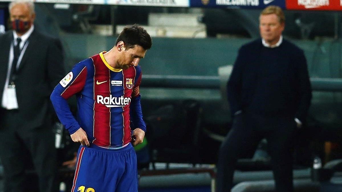 Leo Messi no jugará contra el Eibar