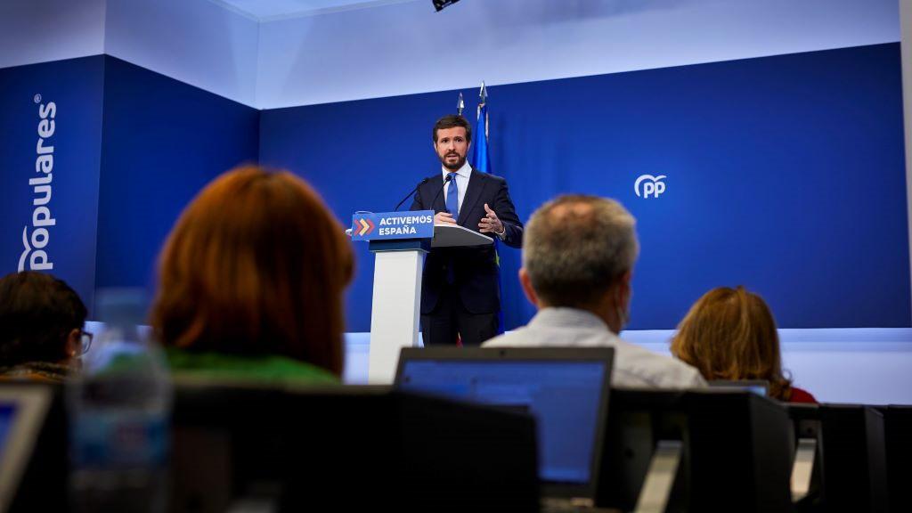 Casado anuncia que el PP cambiará de sede y cerrará Génova