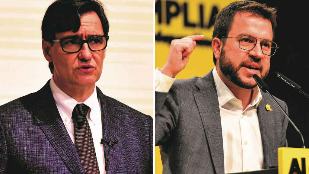 Salvador Isla y Pere Aragonés inician a Carreiro da investidura