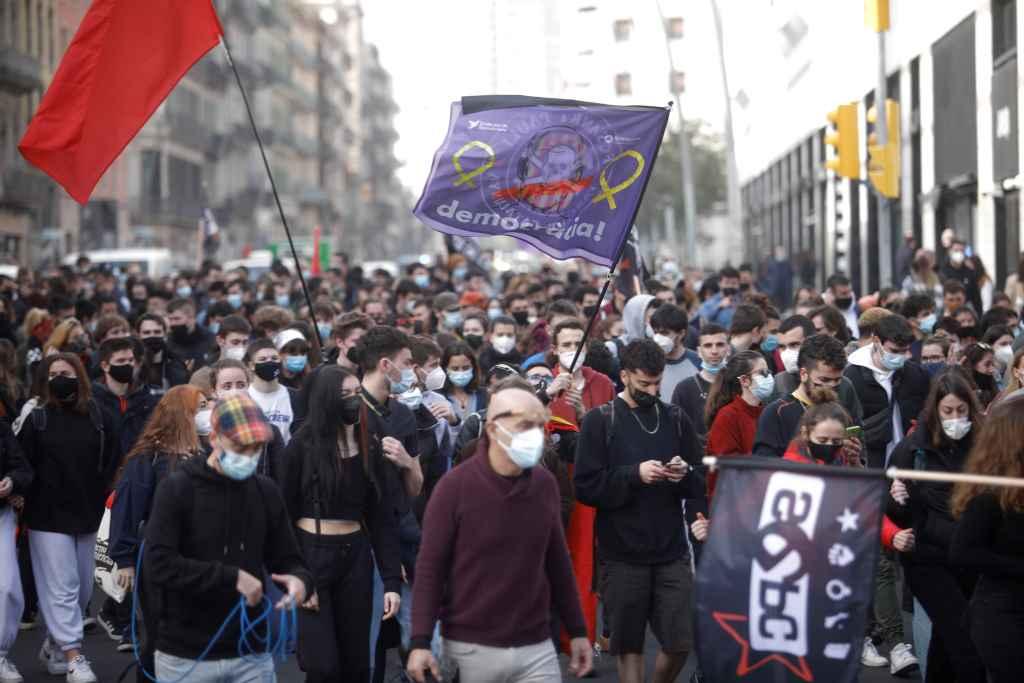 Cuarto día de protestas en España por la libertad de expresión