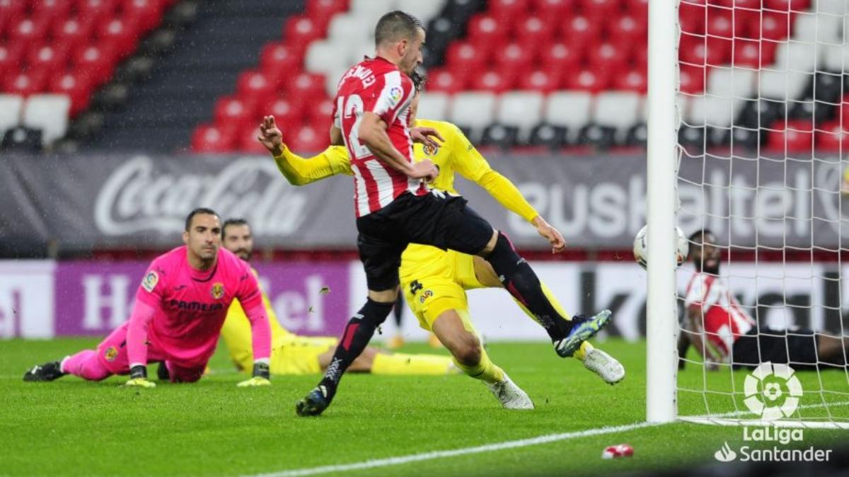 El Villarreal no pasa del empate en San Mamés (1-1)