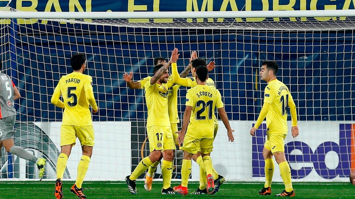 El Villarreal ya está en octavos de final de la Europa League