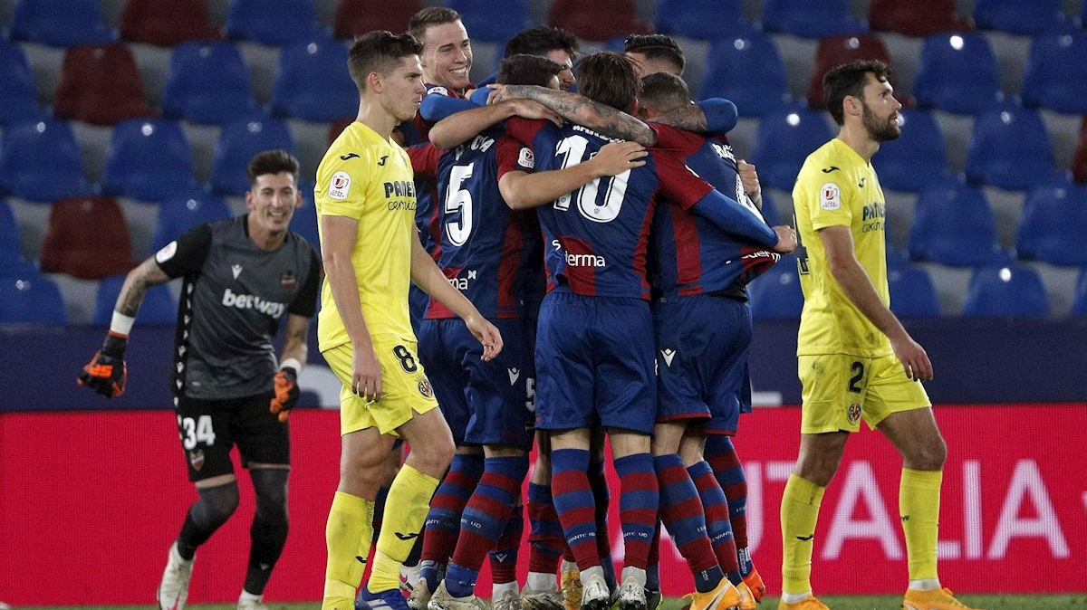 Roger pone el Levante por primera vez en semifinales de la Copa (1-0)