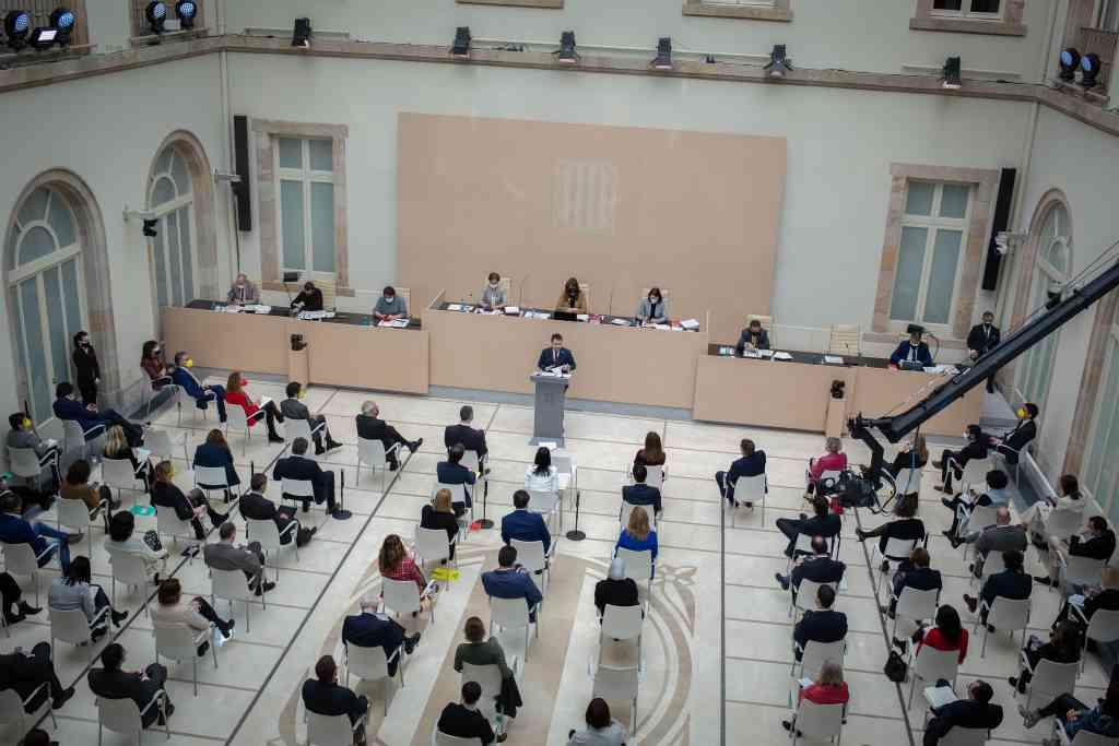 La abstención de Junts anulará la primera votación de la investidura de Aragonès