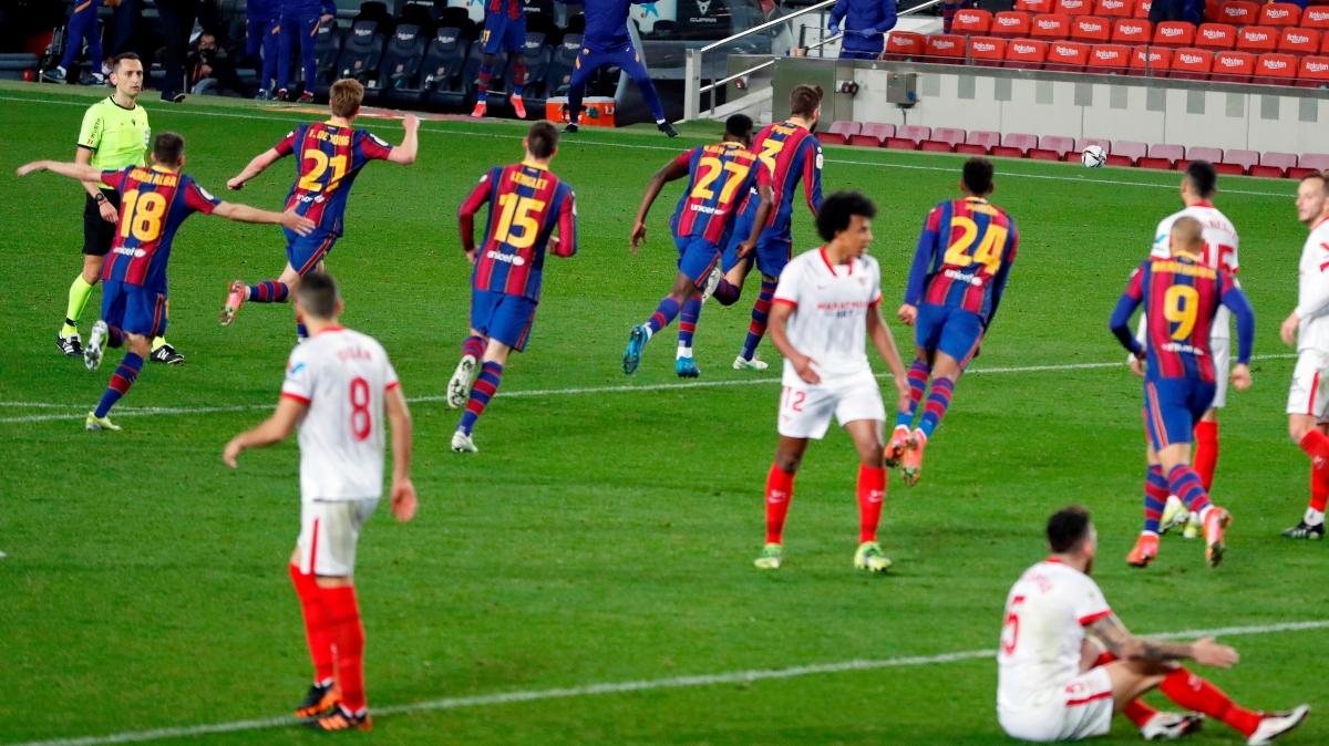 El Barça, primer finalista de la Copa del Rey
