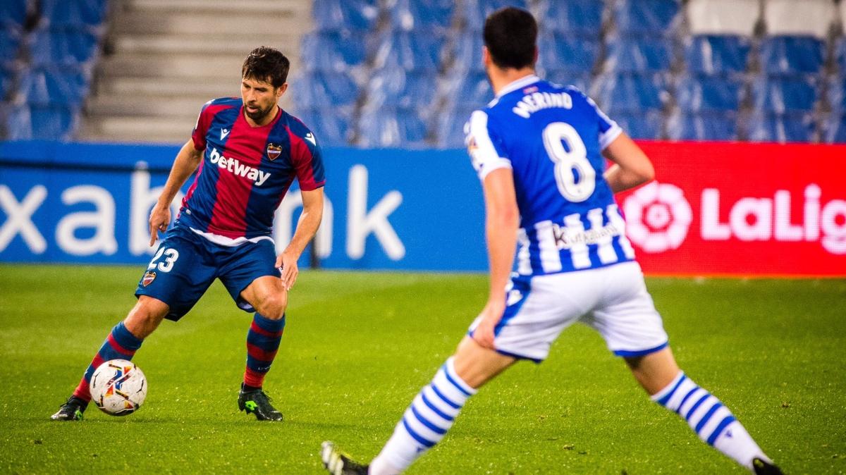 El Levante ahoga en San Sebastián (1-0)